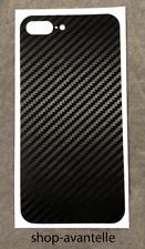 Apple iPhone 8 Plus Decal Skin by Avantelle - Black Carbon Fiber