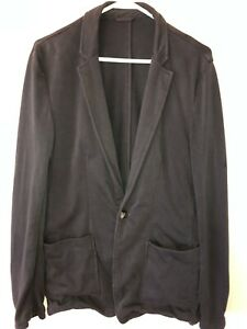 Men's Medium 40 Marine Layer Navy Blue Duke Blazer Sport Coat Jacket