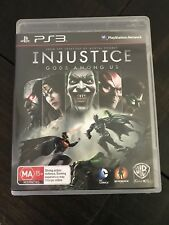 Injustice Gods Among Us PS3 Game