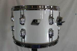 "Vintage Ludwig rocker white 9"" x 13"" Tom  MADE IN USA"