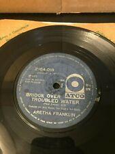 BRAZIL Aretha Franklin Bridge Over Troubled Water EP 45 1971 ATCO VERY RARE SOUL