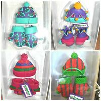 Department 56 19585 WARM-UPS Ornaments HAT & MITTENS! You Pick the Color! MINT