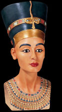 "Nefertiti Egyptian Queen Sculpture Bust 12"" tall replica reproduction"