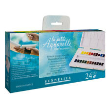 Sennelier La Petite Aquarelle 24 Artists Watercolour Half-Pan Set