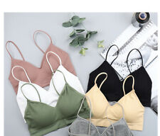Push Up Solid Bra sexy Seamless Wire free Bra Elastic Gathering Bralette Summer