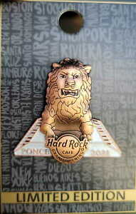 Hard Rock Cafe PONCE PR 2021 Grand Opening GO PIN Lion - LE 300 - HRC #534053