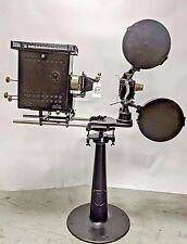 Motiograph A 35mm Silent Hand Crank Cine Projector with Lamp House Circa 1905