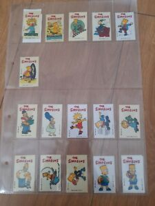 Simpsons Early Chupa Chups Stickers