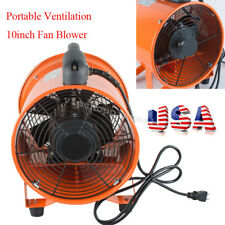 Practical 10Inch Fan Blower Gas Paint Garage Auto Shop Home Fan Blow Dust USA