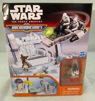 Star Wars The Force Awakens Micro Machines R2D2 Playset - New