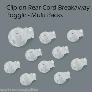 HH Clip On Roman Blind Toggles Cord Adjusters Orbs - Spring Loaded - Multi Packs
