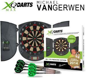 XQ Max Darts CBX-170 Premiere Edition Electronic Dartboard Cabinet
