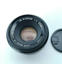 RICOH XR RIKENON 50mm F2 L For Pentax K Mount [Excellent] w/ Caps