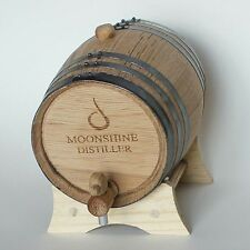 Charred Oak Barrel - Medium Char, 2 Liter