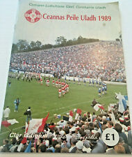 1989 GAA DONEGAL v TYRONE Ulster Football Final Programme