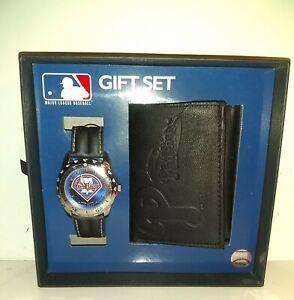 PHILADELPHIA PHILLIES  Watch and Wallet Gift Set MLB Gift set