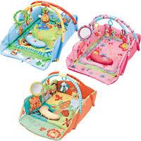 Lay&Play Comfort Baby Gym Activity Floor PlayMat Play Mat Toys & Mirror & Pillow