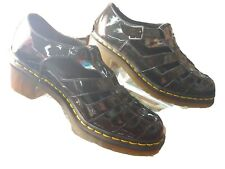"Doc Martens Womens ""Eleanor""US 10 Dr. Air Wair Black Shoes Buckle-Mary Jane's"