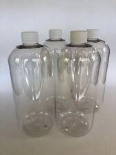 32 oz plastic bottles (4)