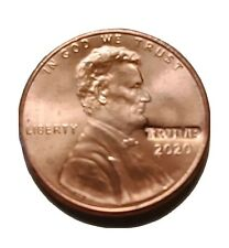 Trump 2020 Counter-stamped US 1-cent Coin