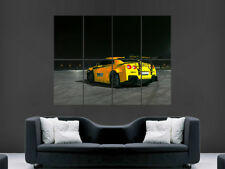 NISSAN GTR CAR POSTER WALL ART PICTURE PRINT LARGE HUGE SPEED RACING