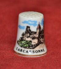 Thimble Collectors Club    ' Carcassonne '  Porcelain