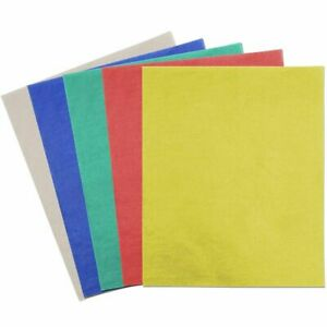 """50x Carbon Tracing Transfer Copy Papers Sheets for Wood DIY 9 x 11"""" Multicolored"""