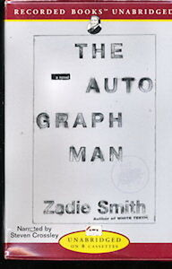Audio book - The Autograph Man by Zadie Smith   -   Cass