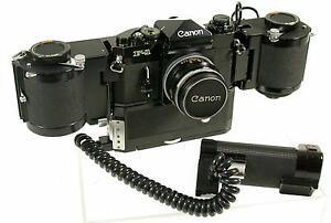 CANON F-1 F1 alt old U.S. Dept of Defense Epsilon Lab 250 bulk rarest einmalig