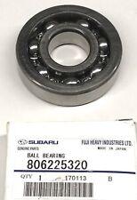 SUBARU OEM 90-14 Legacy Rear Differential-Intermediate Bearing 806225320
