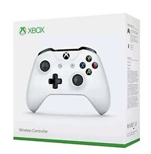 Autentico UFFICIALE CRETA Bianco Microsoft Xbox One Wireless Controller S 3.5mm
