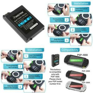 Insten Rechargeable Battery Compatible With Sony Psp 1000 1001 High Capacity 180