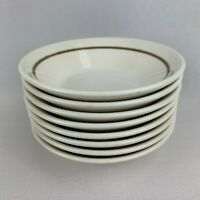 Set of 8 Syracuse China Restaurant Ware Sauce Bowls - Calla Lilly Pattern