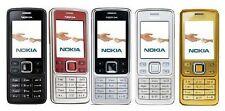 Nokia 6300 Klassisch Silber, Schwarz und Gold Entsperrt Handy Minze