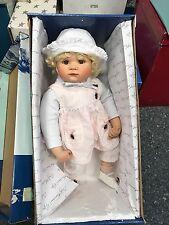 Gaby Jaques Porzellan Puppe 51 cm. Top Zustand