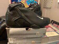 2001 Nike Zoom Hyperflight Black Out Sz 12.5 599503 Mens Basketball Shoe RARE KG