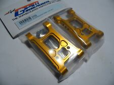"GPM XV056 Alloy Rear Suspension Arm "" Gold"" TAMIYA XV01"