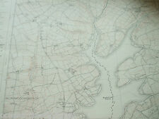 WEST DEVON ORDNANCE SURVEY MAP LARGE 1992 SX49 SW ROADFORD LAKE BROADWOODWIDGER