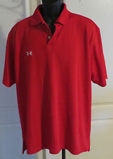 Mens Green Turtle Restaurant Under Armour Polo Golf Shirt Large Ocean City MD