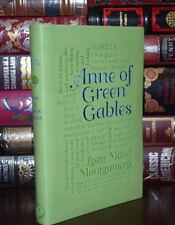 Anne of Green Gables by L. Montgomery Unabridged Deluxe Soft Leather Feel Ed