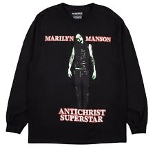 Pleasures Now Marilyn Manson Antichrist Superstar Rock L/S T Shirt Deadstock