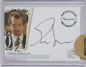 Charmed Destiny Autograph Trading Card Gildart Jackson as Gideon (Razor)