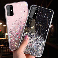 For Huawei P30 Pro P40 Mate 20 Lite P20 P Smart Glitter Bling Soft Case Cover