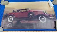 1930 Cord L-29 Car Antique Auto Poster Sign Litho Art Print Advertising VTG
