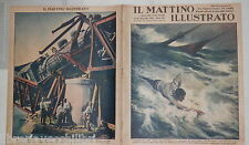 1937 Naufragio in Sicilia Aquincum in Ungheria Guerra in Cina Himalaya Treno di