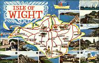 Isle of Wight England ~1960/70 Carisbrooke Castle Ventnor Needles Shanklin Lake