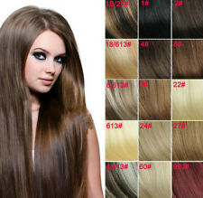 Premium 100% Real Good Clip In Remy Human Hair Extensions Full Head