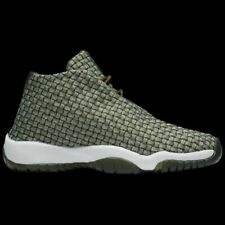 YOUTH SIZE 5Y RARE AIR JORDAN FUTURE BG SHOE OLIVE CANVAS OLIVE 656504-305