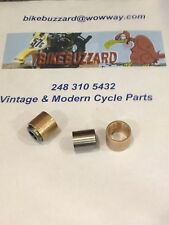 Vintage Ohlins 22mm Lower Shock Shocks Bushing SET of 2 NEW! Maico Husky KTM CZ