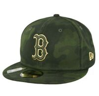 Boston Red Sox New Era 59Fifty Armed Forces 7 3/4 Fitted Cap Hat NEW